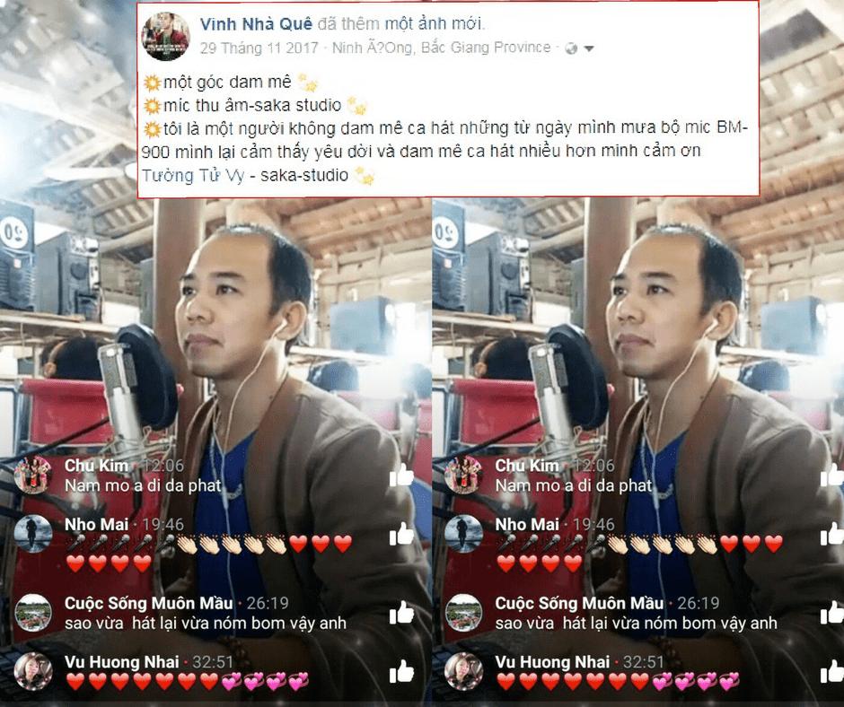 mic hát livestream chuyên nghiệp giá rẻ