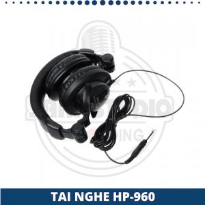tai nghe kiểm âm chuyên nghiệp HP960
