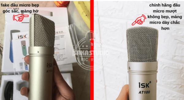 Micro ISK AT100 có hàng giả – cách nhận biết chính hãng