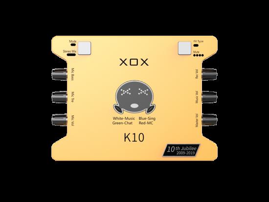 sound card hát live k10 2020