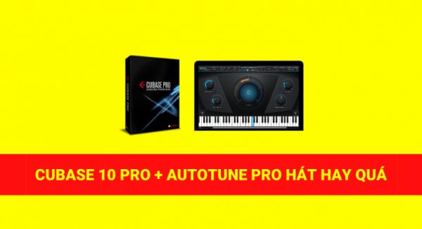 Giới thiệu phần mềm hát live mới cubase 10 + auto tune pro