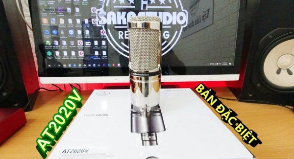 Đập hộp Siêu phẩm Micro phòng thu Audio Technica AT2020V – Phiên bản Đặc biệt