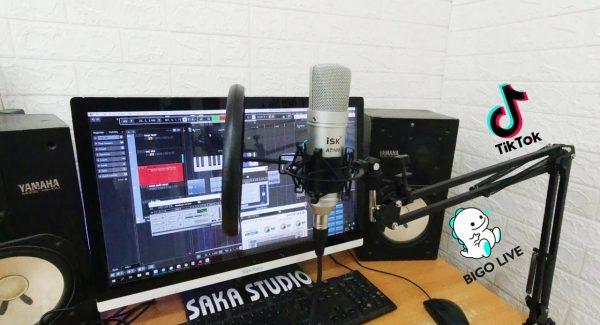 K10 + ISK AT100 – Bộ Thu Âm Livestream Khởi Đầu Cho idol BIGO, TIKTOK, A.E Tập Tành Thu Âm